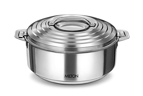Milton Galaxia Insulated Stainless Steel Casserole, Silver - 2.5L