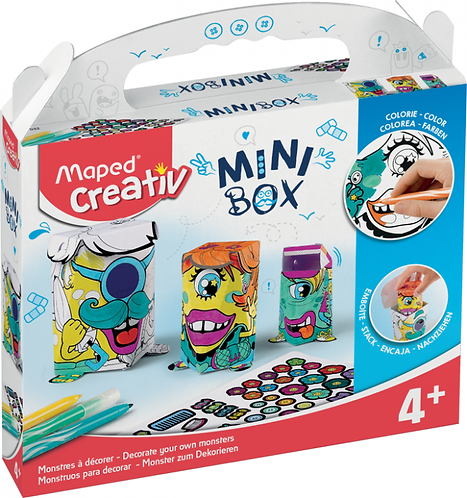 Maped - Mini Box - Monsters to Decorate