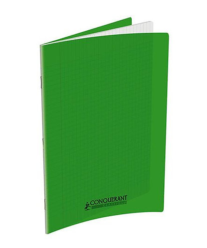 Conquerant Cahier 24 x32 Seyes 192pages Vert