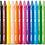 Thumbnail: Maped Crayons cire doux aux couleurs vives x12