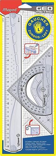 Maped Kit Traçage Geometric 3p Gaucher