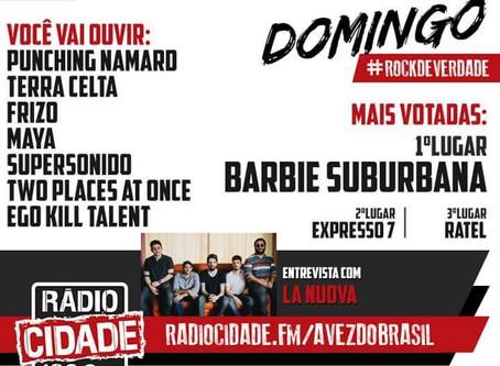 SUPERSONIDO na Rádio Cidade 102,9FM