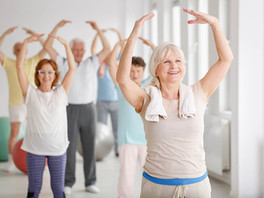 Aerobic Exercise Improves Mood, Cognition, and Language Function in Parkinson's Disease