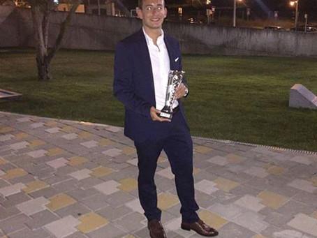 Ricardo Portilho vence prémio de jogador do ano do Gondomar SC 2015/2016