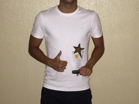 Miguel Ângelo vence prémio jogador revelação do UD Sousense!!!