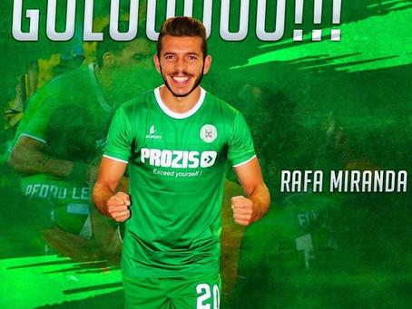 Rafa Miranda marcou um dos golos do empate do Vilaverdense!!!