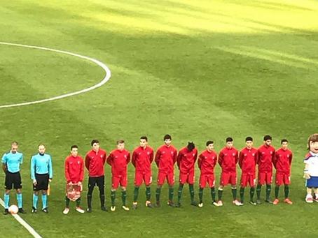 João Mário estreia-se como internacional por Portugal, no escalão sub-18!
