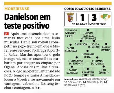 Ricardo Almeida marca o primeiro golo pelo Moreirense !!