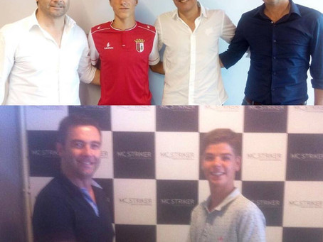Diogo Fernandes e Pedro Alves assinam com a MC Striker!!!