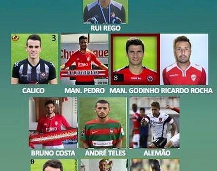 Aylton Boa Morte nos eleitos da equipa da semana do campeonato de Portugal Prio!!!