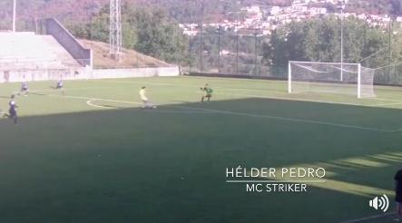 Hélder Pedro  marca 2 golos pelo Amarante FC!