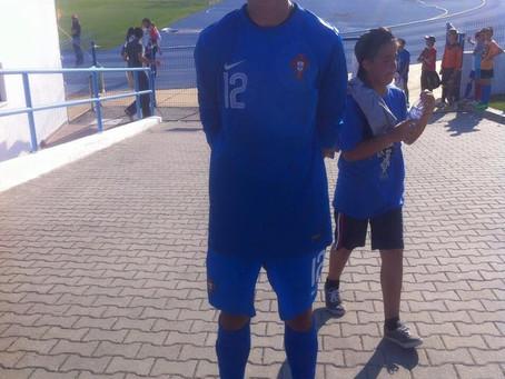 1ª Internacionalização de Pedro Simões na Seleção Sub-15