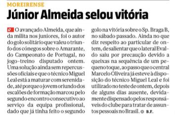 Ricardo Almeida volta a marcar pelo Moreirense !!