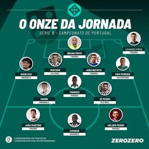 Hélder Pedro no melhor 11 da jornada na série B do campeonato de Portugal!
