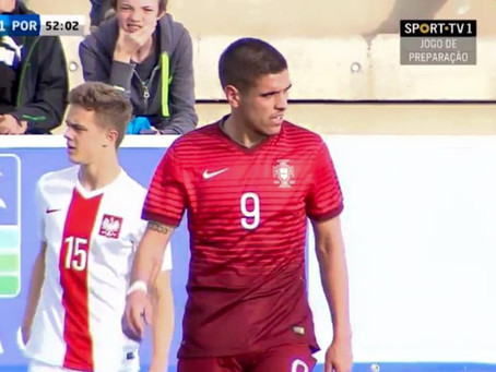 Ricardo Almeida estreia-se pela Seleção Portuguesa sub-19!!!