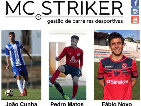 Atletas da MC Striker grande destaque com excelentes exibições e golos !!!