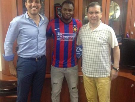 Jean Sony assina pelo Steaua de Bucareste !!