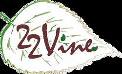 vine logo leaf