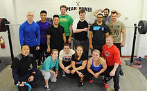 Peak Power Powerlifting Team, with Powerlifting Coach Barry Antoniow