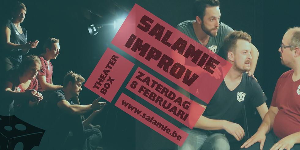 salamie improv + theatersport