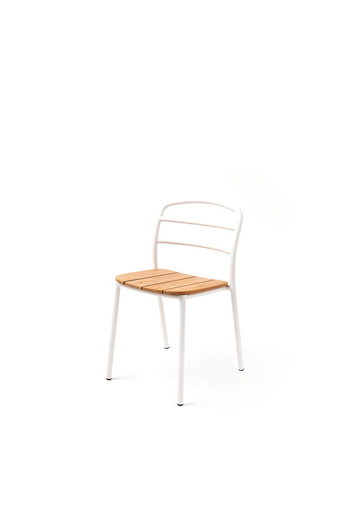 DINING CHAIR I White - Wood