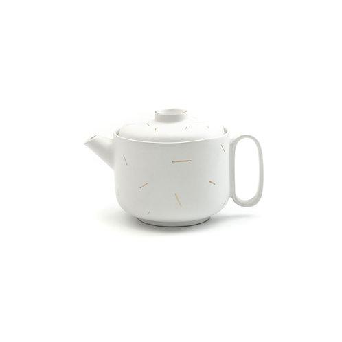 TEA POT I White