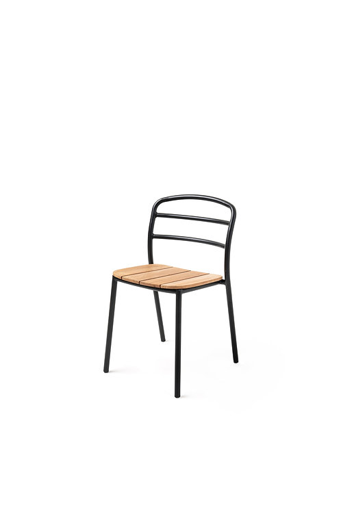 DINING CHAIR I Black - Wood