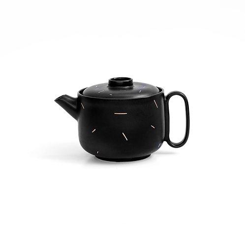 TEA POT I Black