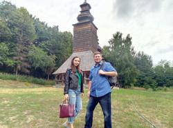 At Pirogiv village-museum