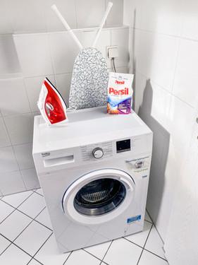 Inkl. Waschmaschine und Trockner
