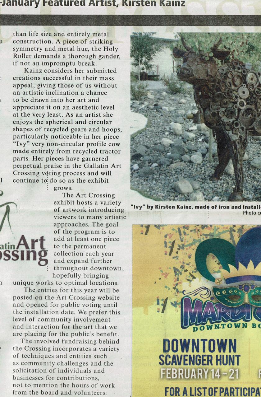 Gallatin Art Crossing