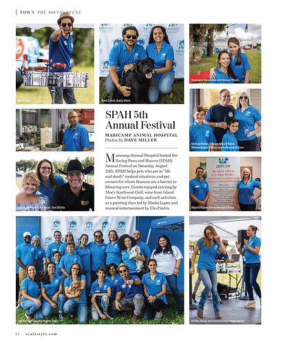 SPAH 5th Annual Festival - First Article