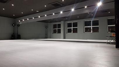 sala studio 2 de la escuela de baile boongha dance studio de terrassa