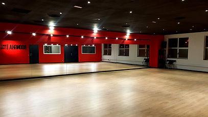 sala studio 1 de la escuela de baile boongha dance studio de terrassa