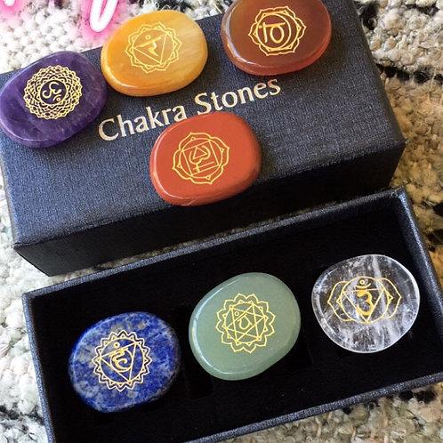 Chakra Crystal Healing Set