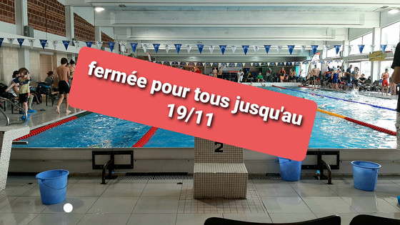 Fermeture piscine d'Embourg