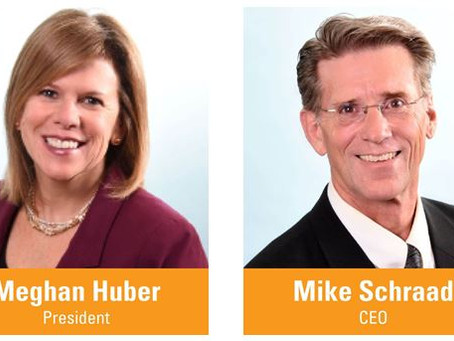 Meghan Huber Named President; Mike Schraad Elevated to CEO