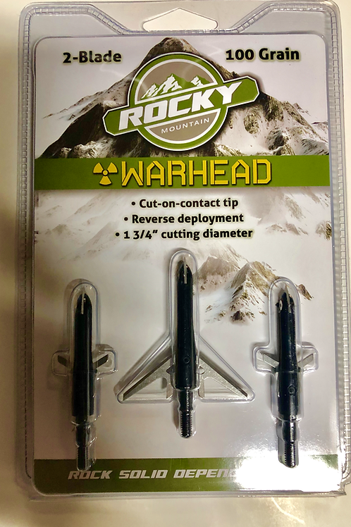 Quantity 10  Rocky broadheads