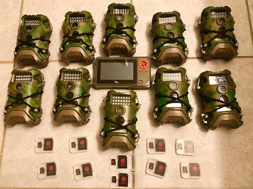 QTY:10    Terra 10 cams, 10SD, Viewer READ DESCRIPTION