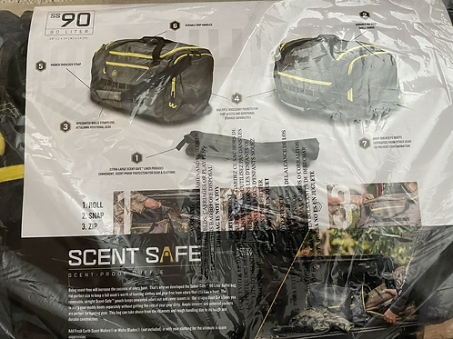 Scentsafe bag 90L