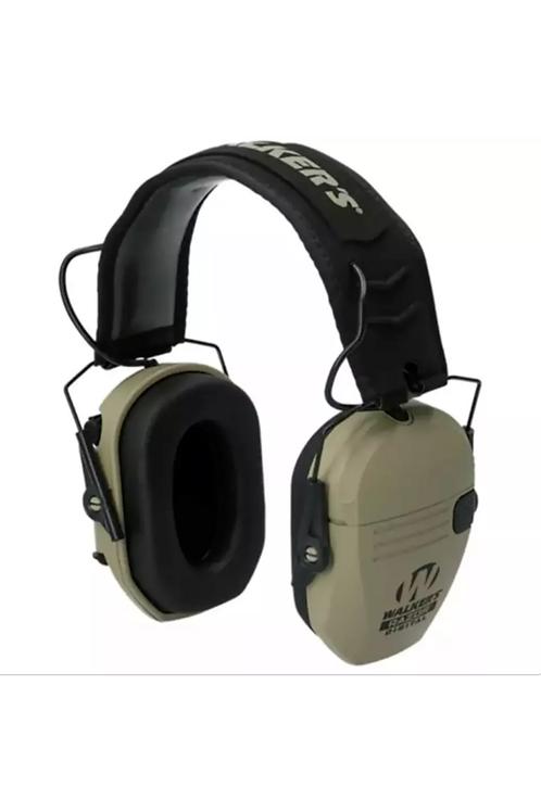 (2 pair)  Walkers RAZOR PRO Digital Electronic Ear Muffs Tan GWP-RSEM-FDE-K