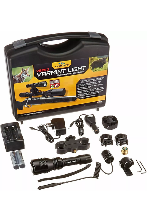 Cyclops VB 250X 40mm Mounted Varmint Light Coyote Wild Hog Night Hunting