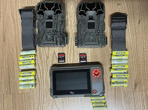 (2 pack) QS12XV2 Stealthcam Lightsout 12MP Starter Pack