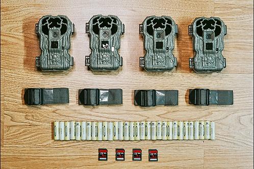(4 pack) StealthCam V30NG 30 Megapixel Lightsout Trail camera Game cam No-glow