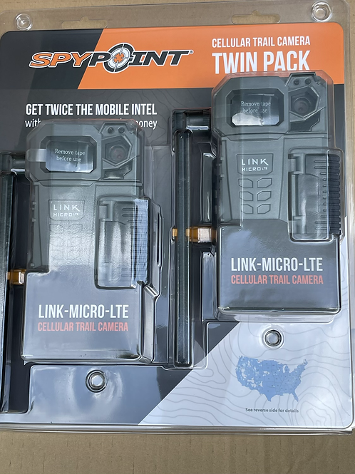 (2 pack) Spypoint micro LTE US ANY CARRIER