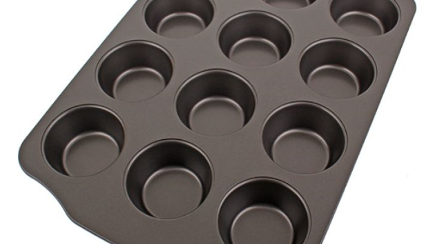 Daily Bake Nonstick 12cup Muffin Pan
