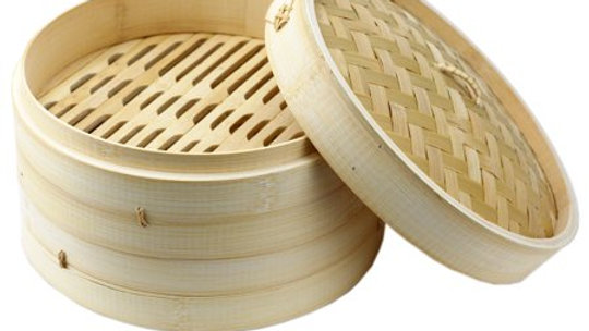 """Bamboo Steamer 10"""""""