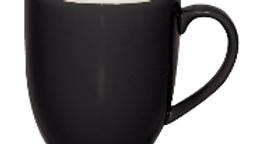 Brew Onxy & White Mug 6/set