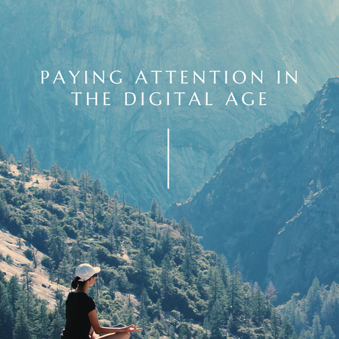 Paying Attention in the Digital Age - Guest Blog
