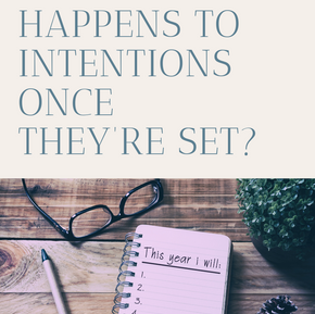 What Happens to Intentions Once They're Set?